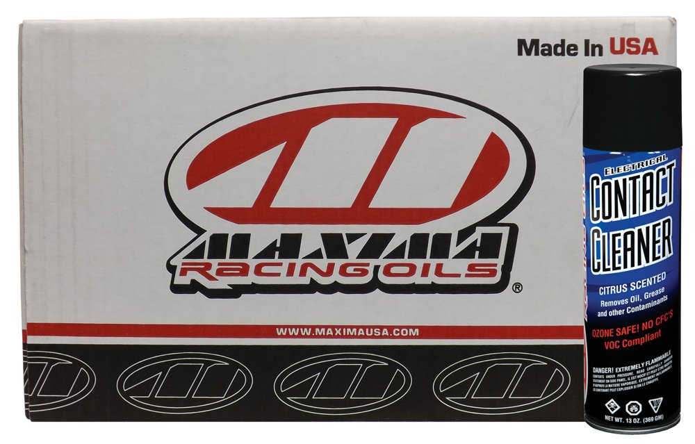 Maxima Racing Oils CS72920-12PK-12PK Electrical Contact Aerosol Cleaner - 156 oz., (Pack of 12) by Maxima