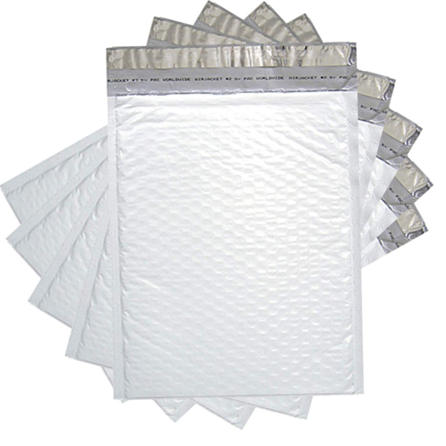 Sales4Less #5 Poly Bubble Mailers 10.5X16 Inches Padded Envelope Mailer Waterproof Pack of 100 by SALES4LESS