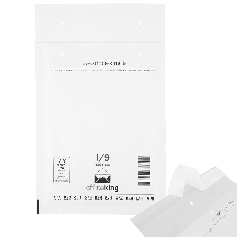 10 Luftpolsterversandtaschen Luftpolstertaschen Gr DIN A4 250 x 350 mm G//7 wei/ß