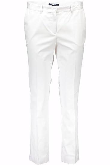 b82cb99027 Gant 1401.414706 Trousers Women White 113 48: Amazon.co.uk: Clothing