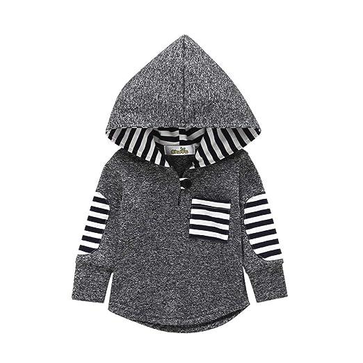 89ba34da1d0d Amazon.com  Minisoya Fashion Toddler Baby Girl Boys Plaid Hoodie ...
