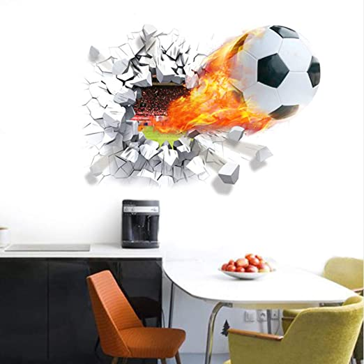 Xqi wangpu Balón de fútbol de fútbol a través de la Pared ...