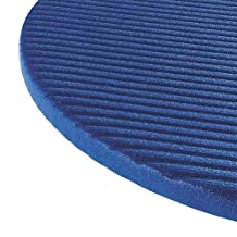 "Airex Coronella Professional Quality Exercise Mat Blue - 72""L x 23"" W x .6""H"