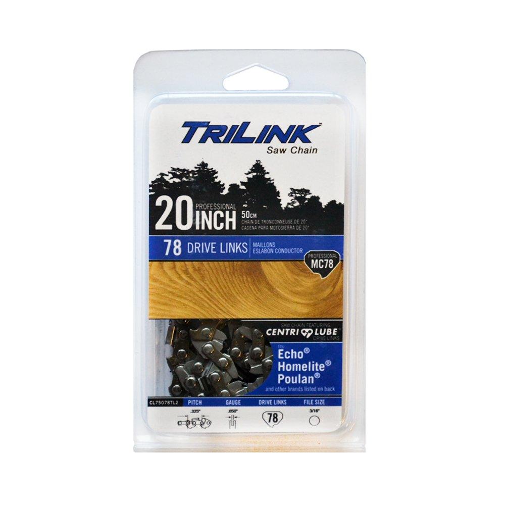 Trilink Saw Chain CL75078NSTL2 20 Chainsaw Chisel Chain Mc78