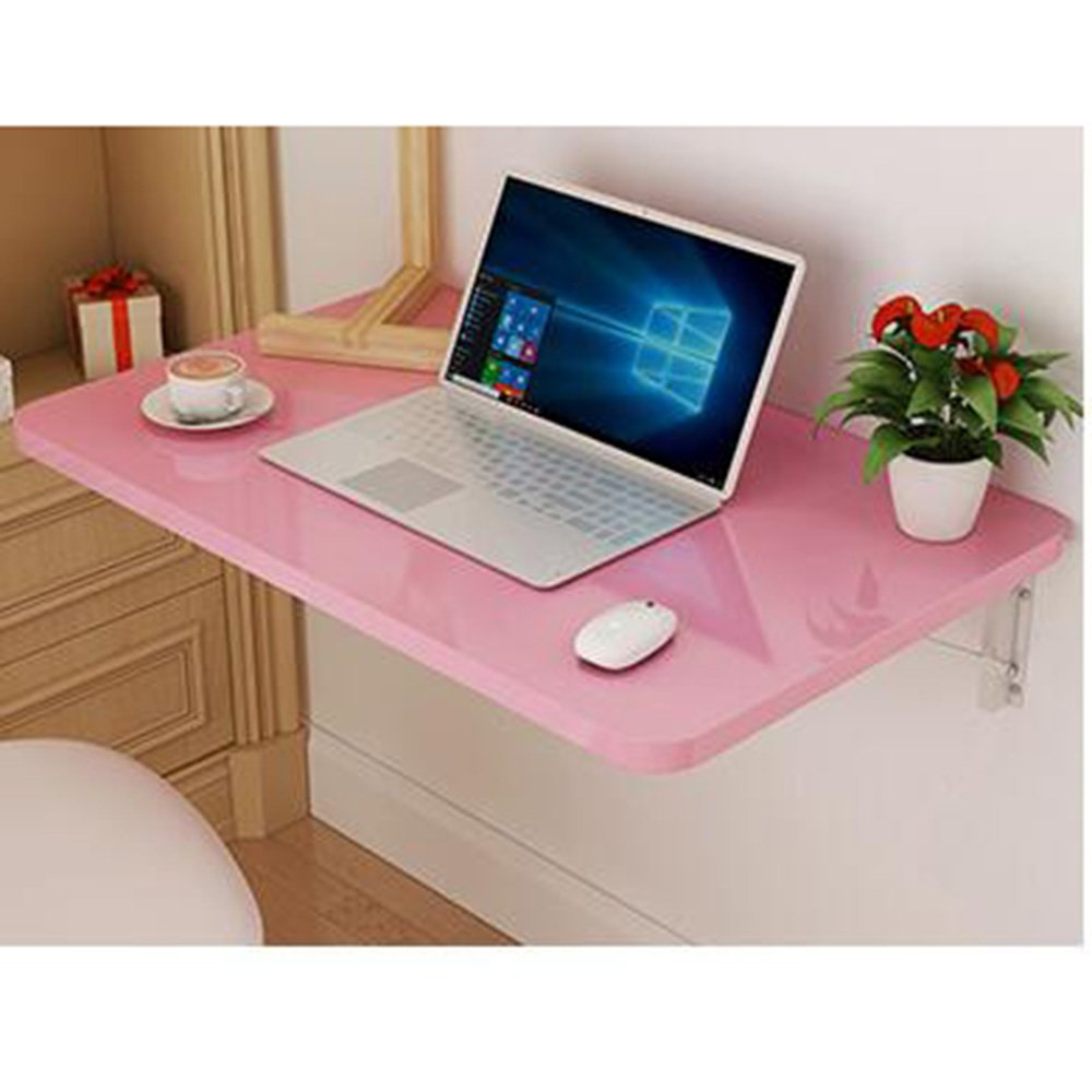 XIAOLIN ベークドペイント折りたたみテーブルウォールマウントテーブルダイニングテーブルウォールテーブルウォールマウントテーブルブックテーブルコンピュータデスクライティングテーブルオプションのサイズ (色 : 05, サイズ さいず : 90*50) B07D57BPQT 90*50|05 5 90*50