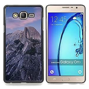 - Beautiful Rocky Mountain - - Cubierta del caso de impacto con el patr??n Art Designs FOR Samsung Galaxy On7 G6000 Queen Pattern