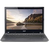Acer Aspire C710-2055 11.6-Inch Chromebook (1.1 GHz Intel Celeron 847 Processor, 4GB DDR3, 320GB HDD, Chrome OS) Iron Gray
