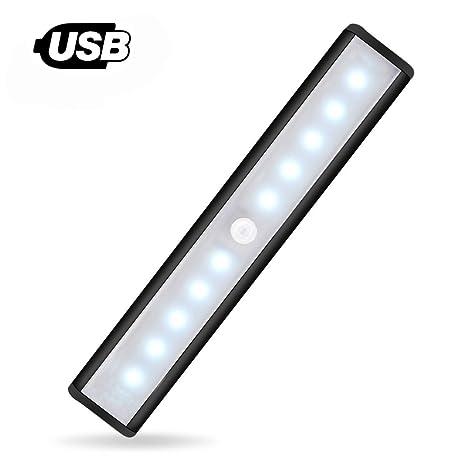 [nuevo] Sensor de movimiento luz para armario – JEBSENS t05b 1 unidades USB Batería