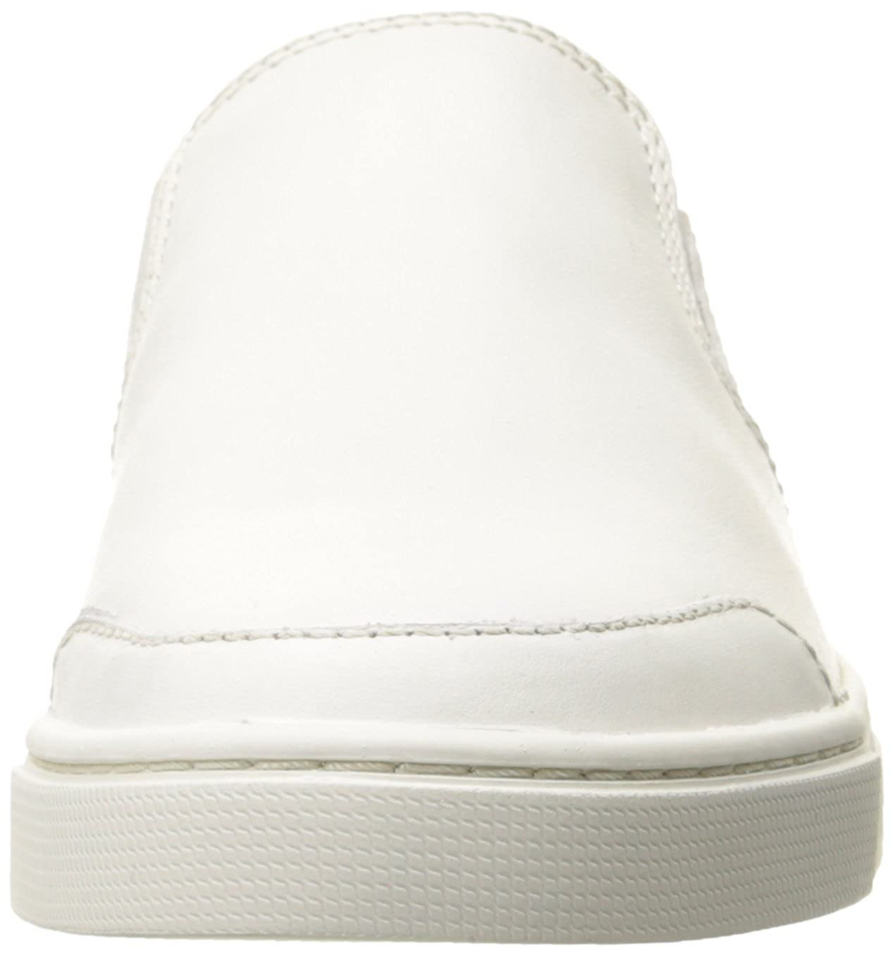 FRYE Women's Gemma Slip Fashion Sneaker, Charcoal Leather, 11 M US