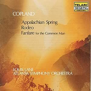 Copland Fanfare Rodeo Appalachian Spring