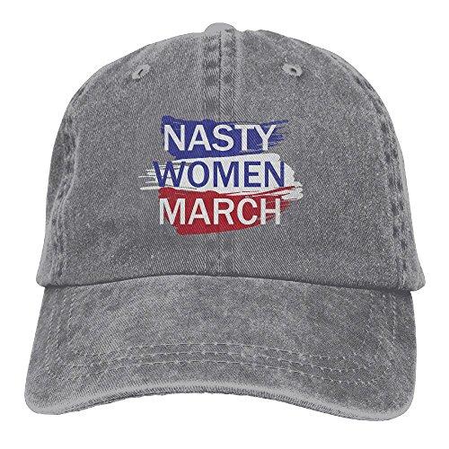 Nasty Women March Adult Yarn-Dyed Denim