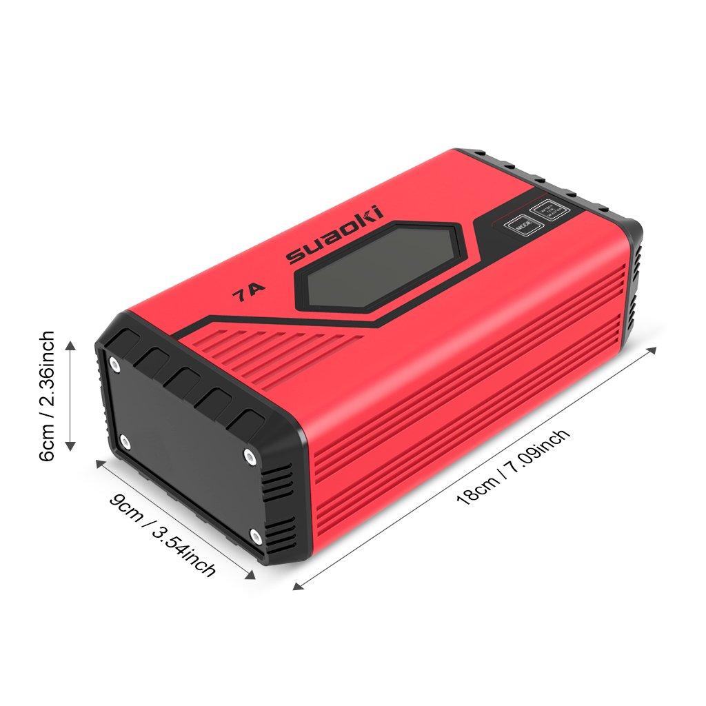 SUAOKI Cargador de batería para Coche