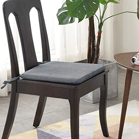 Luoluo Chair Cushion Seat Dining Chair Seat Cushions Set Pads For Office Dining Kitchen Garden Chair 41cm Amazon Co Uk Kitchen Home