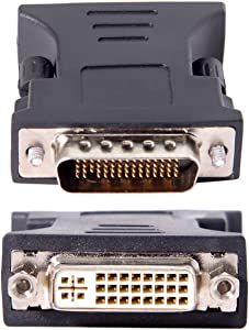 CY DVI 24+5 Female to LFH DMS-59pin Male Extension Adapter for PC Graphics Card
