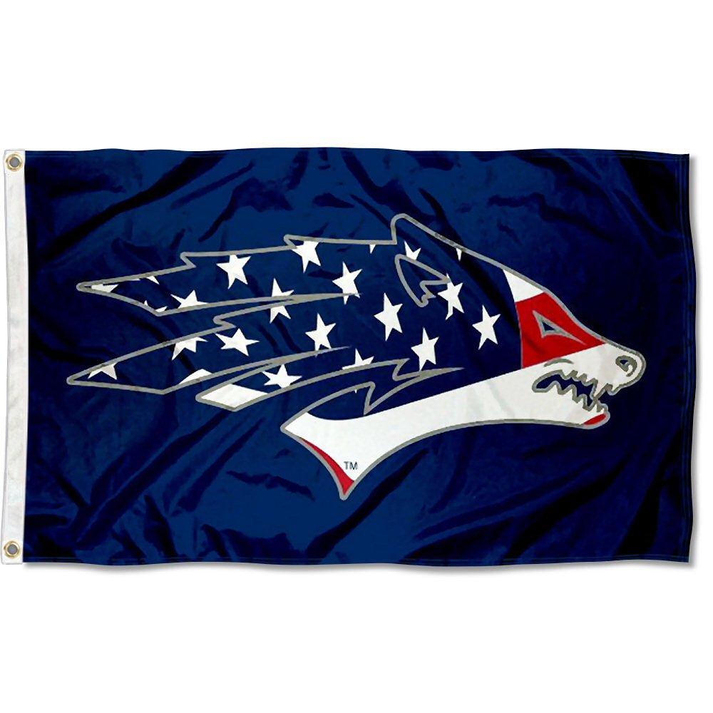 Nevada Wolfpack USA Flag Patriotic Collegeフラグ B07B68V5ND 11974