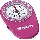 Vixen コンパス オイル式コンパス LEDコンパス ピンク 43021-5