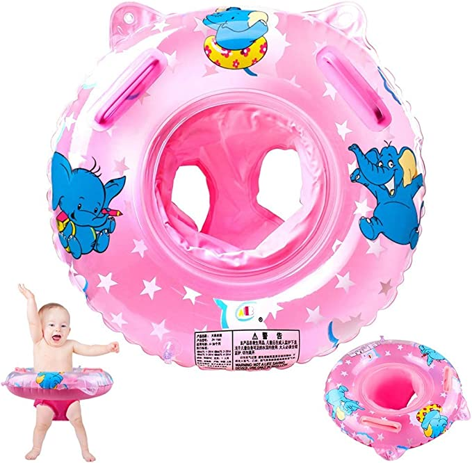 Baby Swimming Ring Inflatable Float Seat Toddler Kids Water Pool Swim Aid Toys
