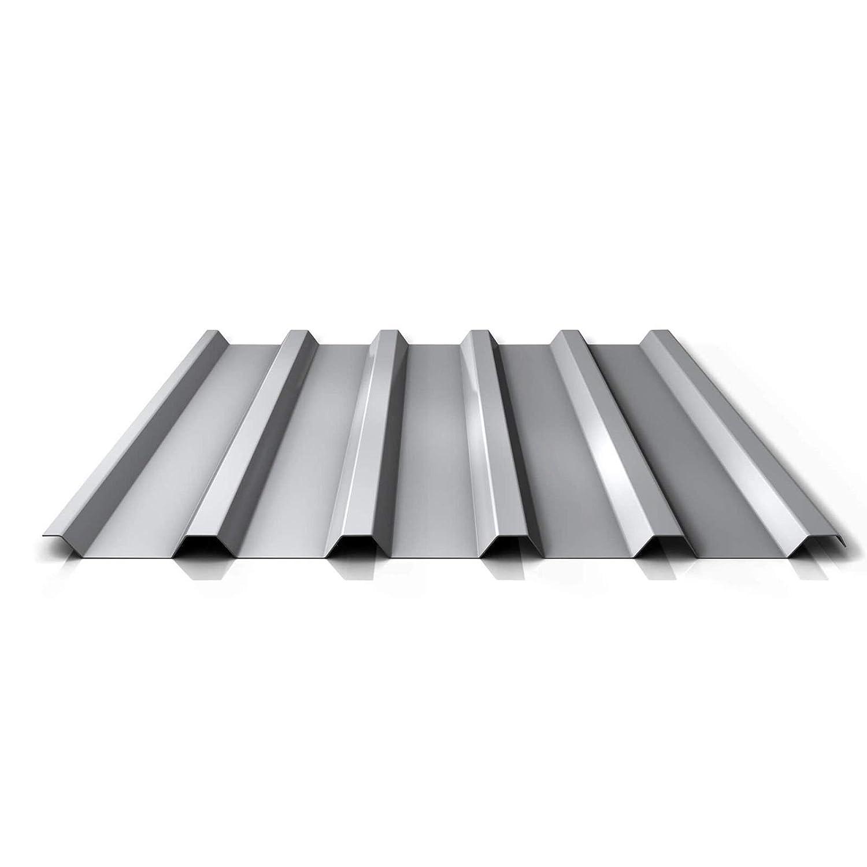 Beschichtung 25 /µm Dachblech St/ärke 0,70 mm Trapezblech Material Aluminium Profilblech Farbe Anthrazitgrau Profil PA35//1035TRA