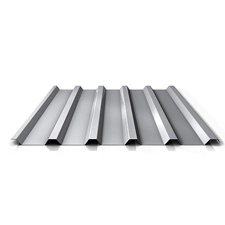 Chapa trapezoidal, perfil PS35/1035TRA, material de acero, grosor 0,63 mm, revestimiento 25 μm, color marfil claro: Amazon.es: Bricolaje y herramientas