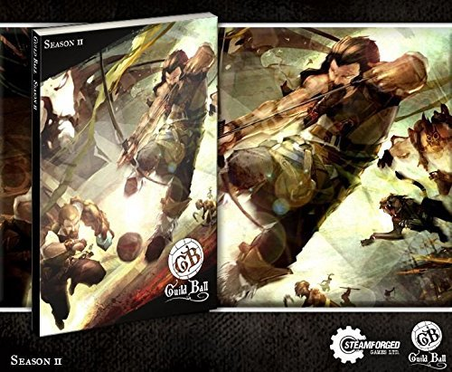 - Steamforged Games Guild Ball Season 2 Rulebook with Sleeve
