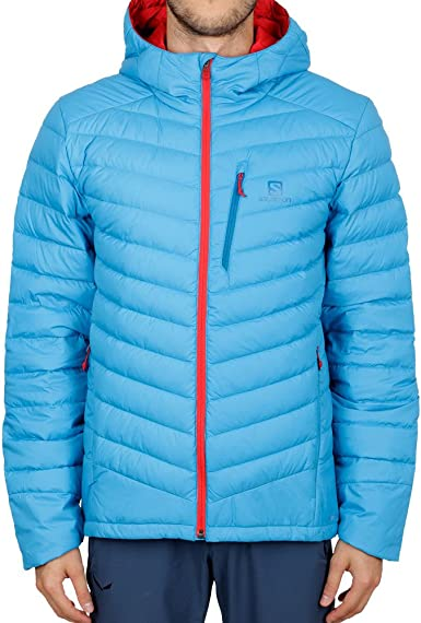 Salomon Halo Down Hooded Giacca: Amazon.it: Abbigliamento