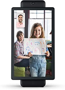 """Portal Plus from Facebook. Smart, Hands-Free Video Calling with Alexa Built-in [15.6"""" display] – Black"""