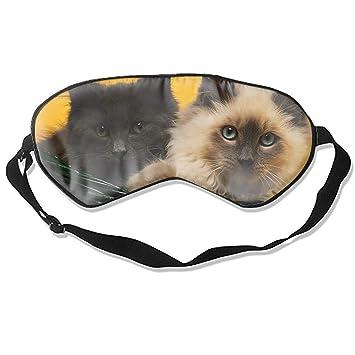 Máscara de ojos para dormir, gatos animales, máscara de ojos 3D, cubierta de parasol para dormir y dormir: Amazon.es: Salud y cuidado personal