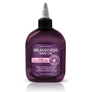 Amazon Com Hair Chemist Brassiness Conditioning Hair Oil With 99
