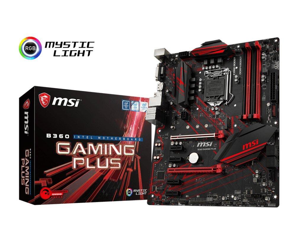 MSI Performance Gaming Intel Coffee Lake B360 LGA 1151 DD...