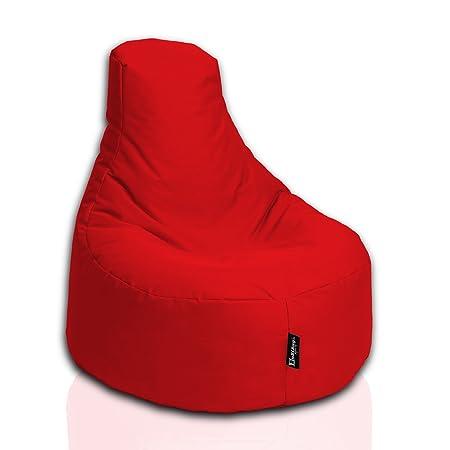 Bubibag Gamer Kissen Lounge Sitzsack Sessel Original Sitzkissen In