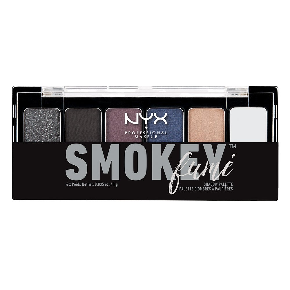NYX Professional Makeup The Smokey Fume Shadow Palette, 0.21 Ounce