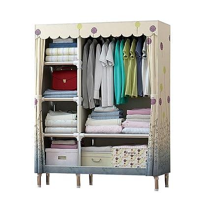 Amazon.com: WN - Cloth Wardrobe Hanger Coat Rack Fabric ...