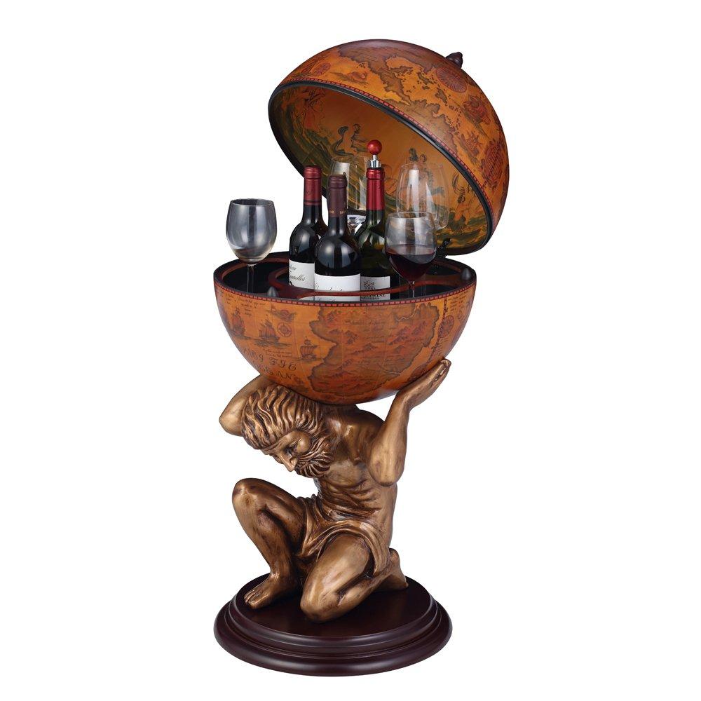 NEX HT-KF304G-M Globe Wine Bar, Wood