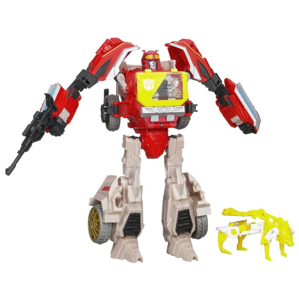 Transformers Generations Voyager Class Autobot Blaster Figure 6.5 Inches by Lucky Couple