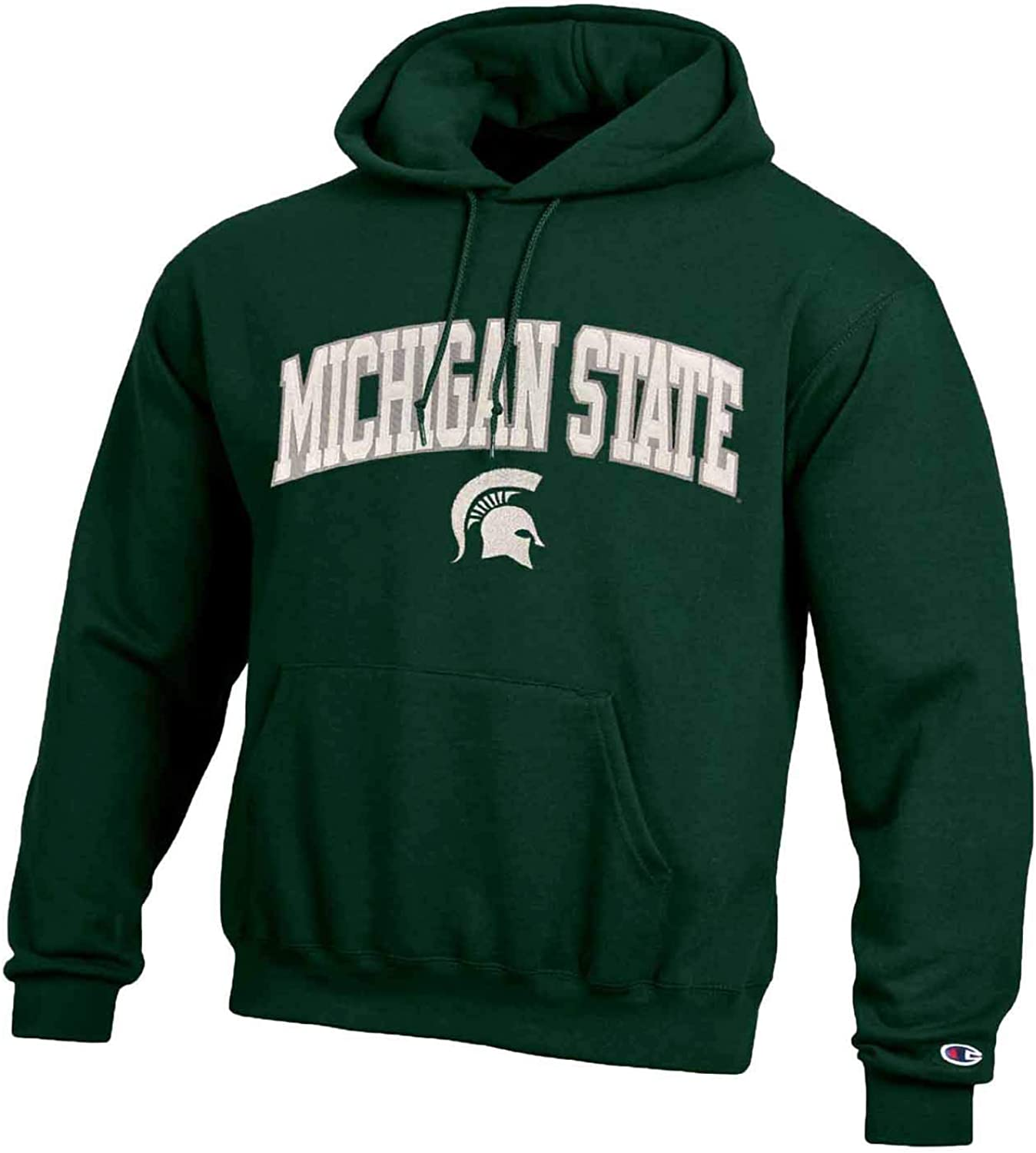 Champion Adult Tackle Twill Hooded Sweatshirt Officially Licensed Unisex NCAA Team Apparel