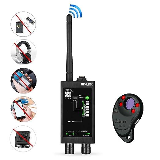 RF Signal Detector GPS Tracker Finder Camera Scanner Detectors Anti Spy Bug Betector Lens CDMA GSM Device Finder Monitor