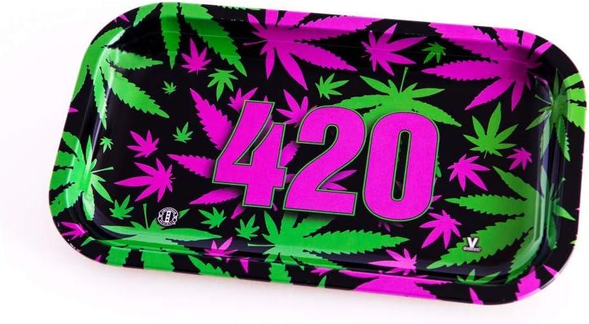 V-Syndicate 420 Vibrant Rolling Tray Drehunterlage Mischschale 27x16cm