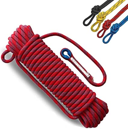 Ccfgh 12 mm nylon trepador trepador cuerda de tracción cuerda ...