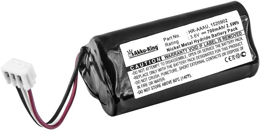 Akku-King batería para Wella Xpert HS70, Kadus Clipper: Amazon.es ...