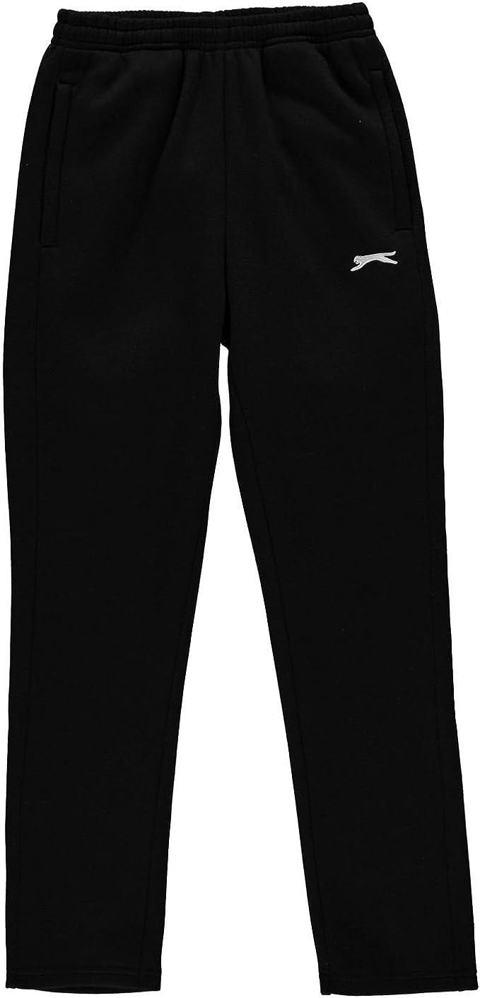 Slazenger Boys Open Hem Fleece Pants Childrens Running Clothing