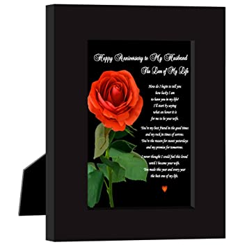 Amazoncom Happy Anniversary To My Husband Love Of My Life