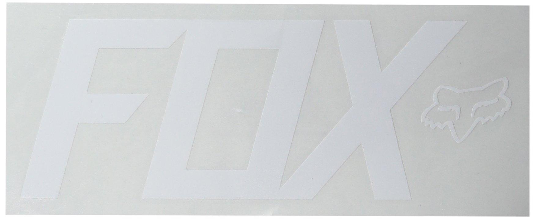 Fox Men's TDC-7'' Sticker, White One Size