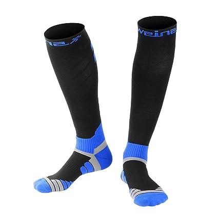 Calcetines de Compresión Para Hombres y Mujeres WEINAS® Medias de Compresión Unisex(20-