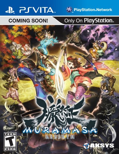 Muramasa Rebirth Video Game for PlayStation