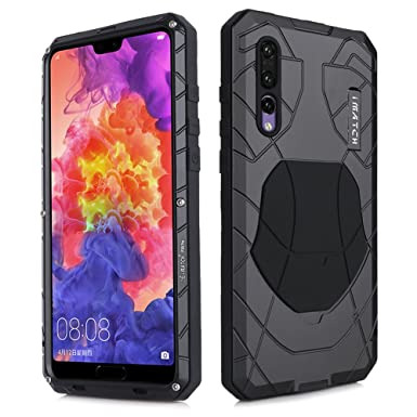 online store 416e3 99be0 Eastcoo Huawei p20 Pro Case, Mental Bumper Heavy Duty Case Protect Extreme  Shockproof Case for P20 Pro (Huawei p20 pro, Black)
