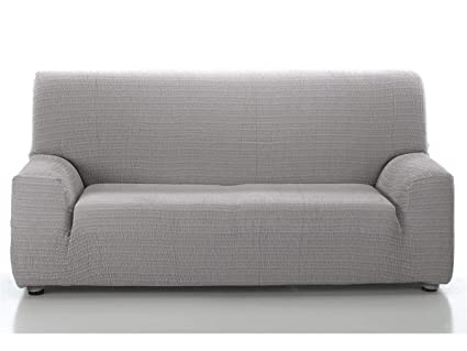 CAÑETE - Funda sofá Akari 4 plazas - Color Gris Claro ...