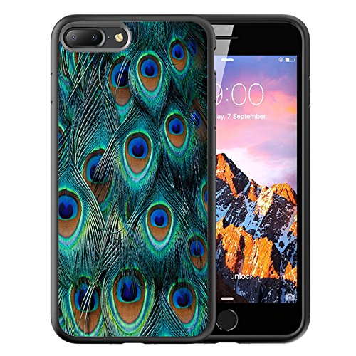 iPhone Customized Rubber peacock feather product image