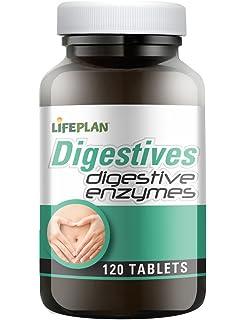 Lindens Enzimas digestivas en comprimidos diarios | 90 ...