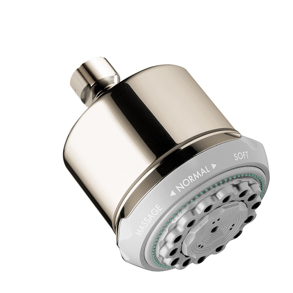 Hansgrohe 28496931 Clubmaster Shower Head, Polished Brass - Fixed ...