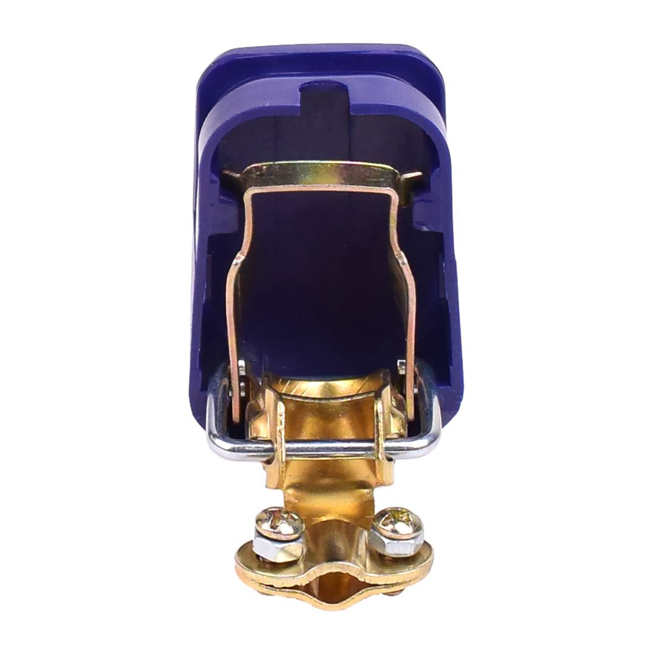 Gaosheng 1 paire de connecteurs de batterie de voiture 12 V avec prise de d/émarrage rapide